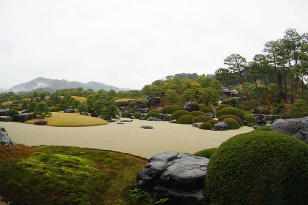 足立美術館〜庭園02