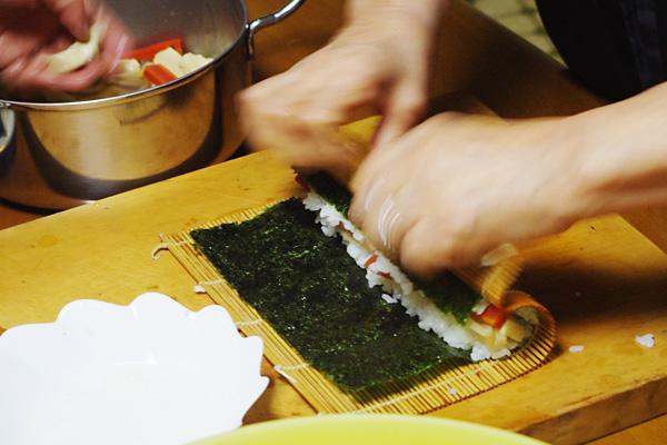 お寿司まきまき