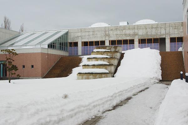 雪の会津大