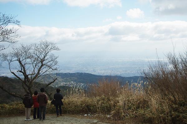 最高峰からの眺め