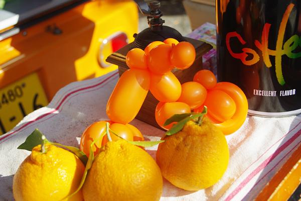 オレンジ・バイク