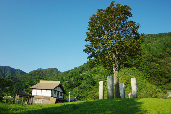 小屋と大樹