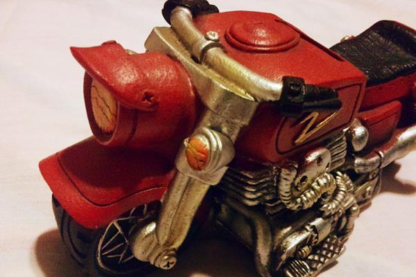 バイク型の貯金箱