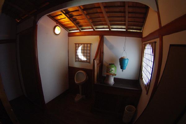 風流なトイレ