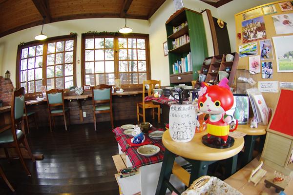 くまごろうカフェ店内
