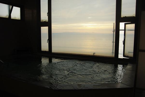 浴場からの眺め