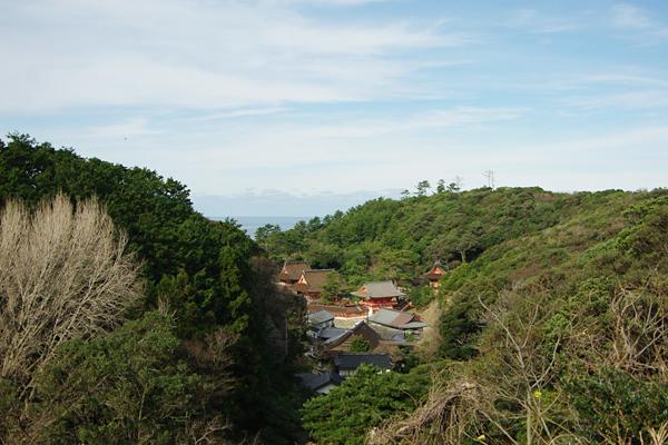 日御碕神社〜遠景
