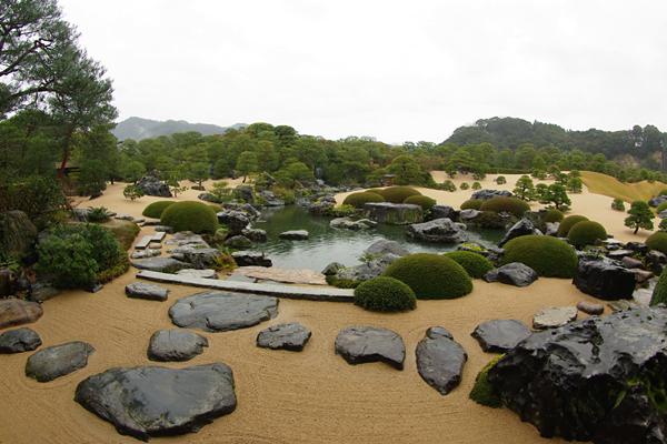 足立美術館〜庭園07